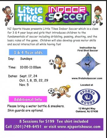 little tikes soccer fall 2017